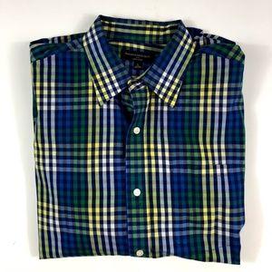Men's Banana Republic Soft Wash Dress Shirt Size L